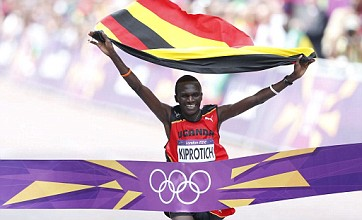 Stephen Kiprotich claims shock marathon gold for Uganda