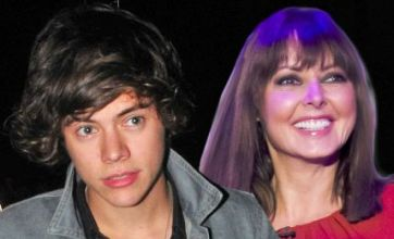 Harry Styles 'eyes up Carol Vorderman as his next cougar lover'