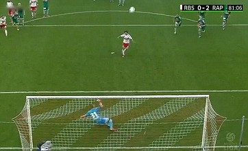 Jonathan Soriano takes David Beckham's title of worst penalty ever