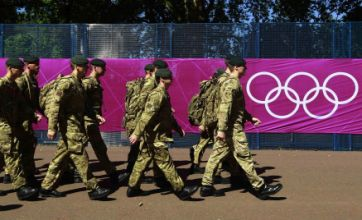 Armed forces 'will need two years' to recover from London 2012 Olympics