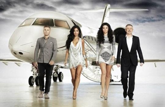 Gary Barlow, Nicole Scherzinger, Tulisa Contostavlos, X Factor
