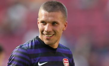 Lukas Podolski determined to fire Arsenal to Premier League title