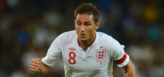 England Football Roy Hodgson Frank Lampard