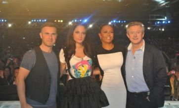 Mel B shocks on X Factor after using Spice Girl dolls to mock Posh and Geri