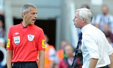 Alan Pardew could face action over push on official during Newcastle win