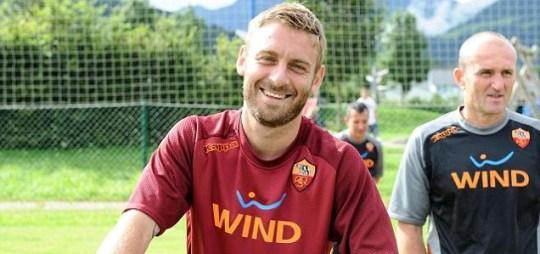 Daniele De Rossi, Roma, Manchester City.