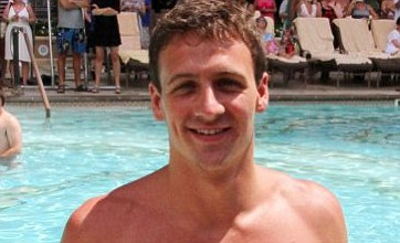 Prince Harry beats Olympian Ryan Lochte in Las Vegas swimming race