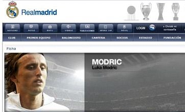 Luka Modric is seen here, there, everywhere – except in Real Madrid kit