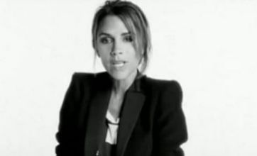 Victoria Beckham ditches her British accent for US fashion ad