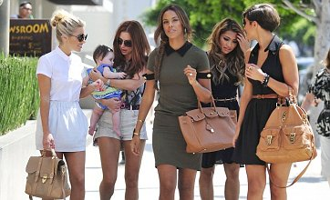 The Saturdays dote on Una Healy's baby daughter Aoife Belle in LA