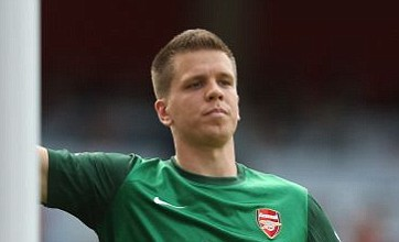 Wojciech Szczesny faces fitness battle ahead of Arsenal's visit to Stoke