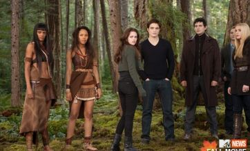 Robert Pattinson reunites with Kristen Stewart in new Breaking Dawn picture