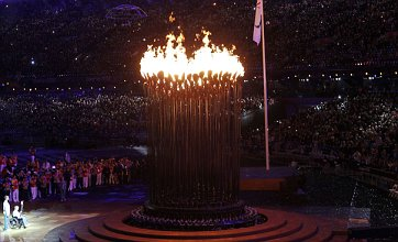 Paralympic torch wins race to make stadium on time for opening ceremony