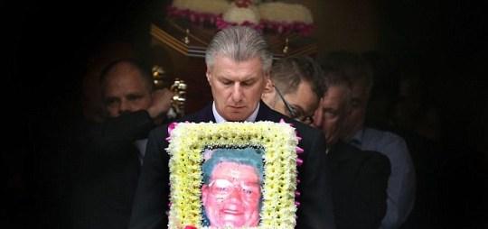 Winnie Johnson, funeral
