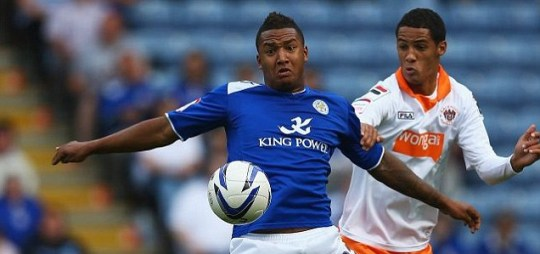 Liam Moore of Leicester
