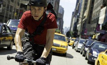 Premium Rush sees Joseph Gordon-Levitt play a crime-fighting cyclist, no seriously