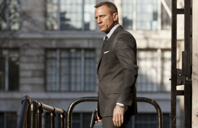 Bond couldn't wait to go sight-seeing (Picture: Sony Entertainment)