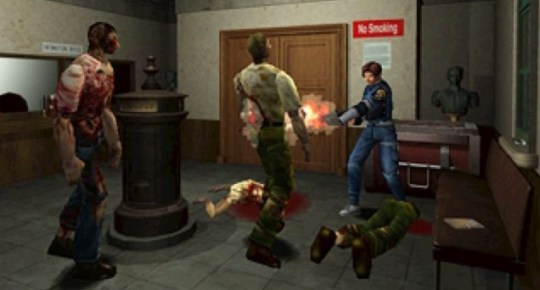 Resident Evil 2 – 'Let's split up, look for any survivors and get out of here'.