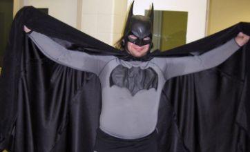 Interfering 'Batman' arrested for refusing to leave crime scene