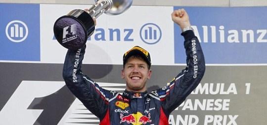 Sebastian Vettel, F1, Japan.