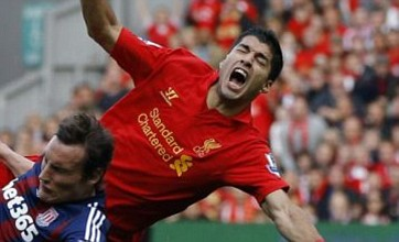 Luis Suarez is a media victim, claims Liverpool manager Brendan Rodgers