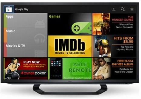 Google TV, Google Play