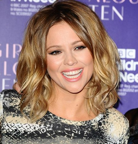 52ad5946ac0 Kimberley Walsh plugs Girls Aloud tickets still up for grabs on ...