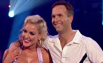 Michael Vaughan: Kimberley Walsh's dancing background isn't a patch on mine