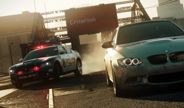 Need For Speed: Most Wanted (PS3) – police action