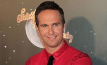 Former cricketer Michael Vaughan hits the tan bottle for Strictly Come Dancing