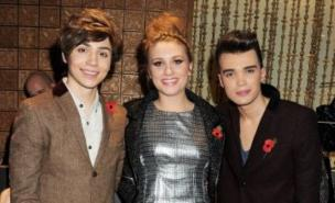 It appears there is something of a love triangle between X Factor contestants Ella Henderson, George Shelley and Josh Cuthbert (Pic: Getty Images)