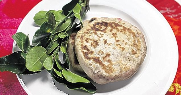 Tuna and Coconut Roti