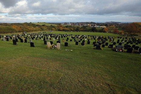 Woodlands Cemetery Scarborough Jimmy Savile grave