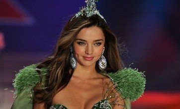Miranda Kerr wows the crowds in green get-up at Victoria's Secret show