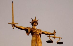 scales of justice, court
