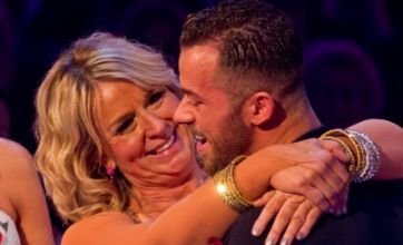 Fern Britton salsas out of Strictly Come Dancing