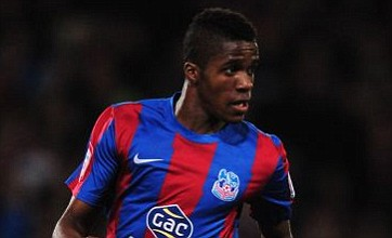 Wilfried Zaha said only Messi and Ronaldo were better to 'boost his ego'