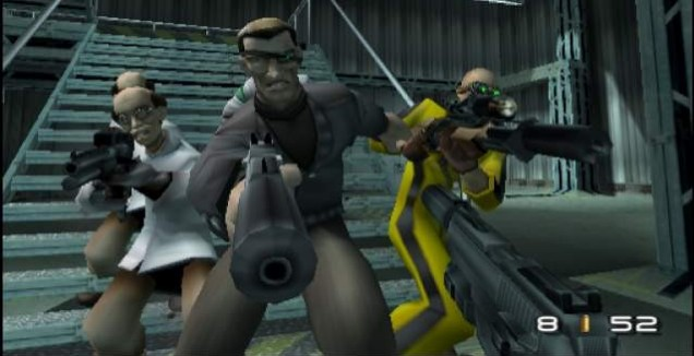 TimeSplitters 2 – only you, and 29,999 of your friends, can save it now
