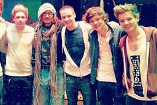 One Direction, Johnny Depp