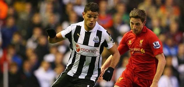 Hatem Ben Arfa of Newcastle United