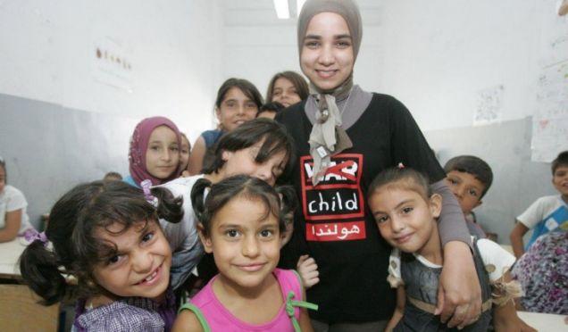 Syria War Child