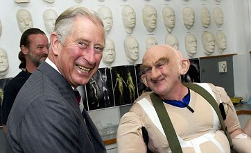 'Good-humoured' Prince Charles cuts birthday cake to hit Beatles number