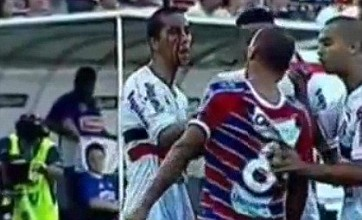 Chicao handed two-match ban for smearing blood on opponents' face