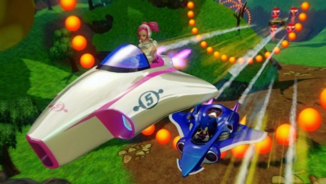 Sonic & All-Stars Racing Transformed (360) – where we're going, we don't need roads