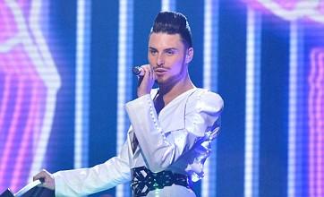 X Factor: Rylan Clark makes Gary Barlow fat jibe