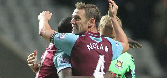 Kevin Nolan of West Ham United