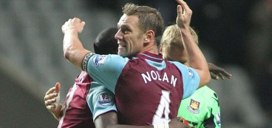 Kevin Nolan of West Ham United