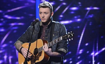 The X Factor's James Arthur feeling positive about Abba and Motown week