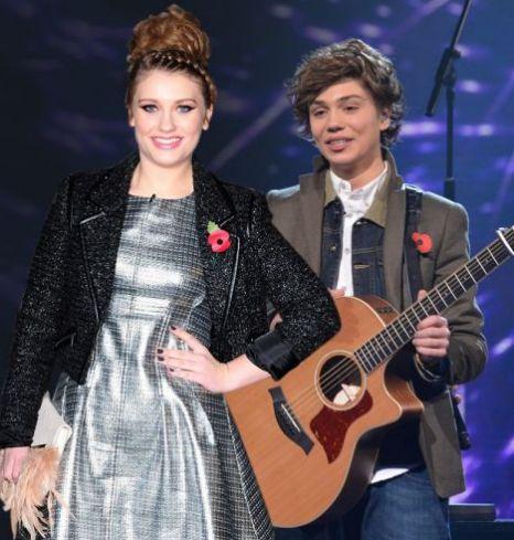 Ella Henderson, Union J, George Shelley, The X Factor