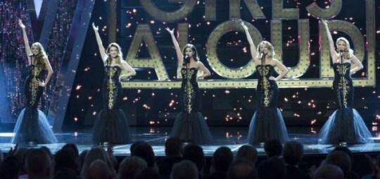 girls aloud royal variety performance